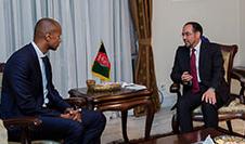 ربانی 226x133 - دیدار صلاح الدین ربانی با سفیر جدید التقرر دنمارک