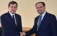ربانی 3 226x145 - دیدار صلاح الدین ربانی با وزیر خارجه ترکمنستان