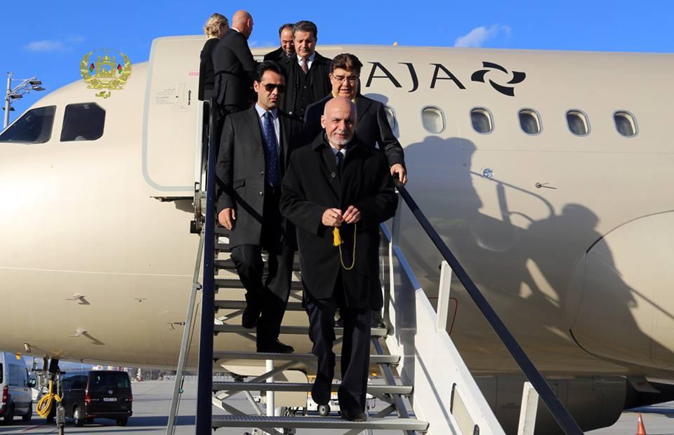 غنی 4 - سفر رییسجمهور غنی به قزاقستان