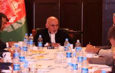 غنی 5 226x145 - دیدار رئیس جمهور با نمایندگان نهادهای مختلف مدنی