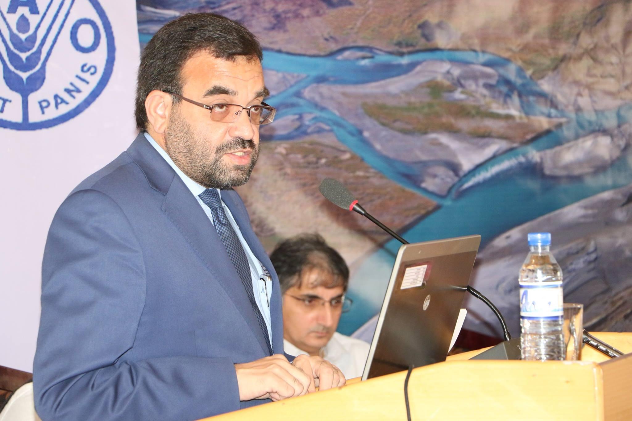 علی احمد عثمانی  - امضای تفاهمنامه تولید برق از گاز شبرغان