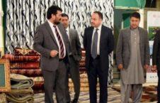 مرکز قالین 226x145 - دیدار وزیرمالیه ازمرکز قالین و فرش