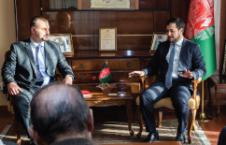 دیدار داکتر نصیر احمد اندیشه با نیکولای دیمیتروف