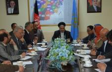 دیدار عالمی بلخی با اعضای گروپ دوستی میان افغانستان و پاکستان