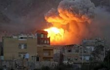 بمباردمان 226x145 - نقض مکرر آتش بس در یمن توسط عربستان