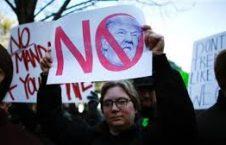 تظاهرات 226x145 - مظاهره صدها تن از جرمن ها بر ضد ترمپ