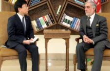 جاپان 226x145 - دیدار داکتر عبدالله عبدالله  با سفیر جدید جاپان