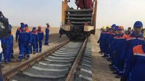 خط آهن - بهره برداری از راه لاجورد با حضور روسای جمهور افغانستان و ترکمنستان