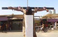 عراقی2 226x145 - به صلیب کشیده شدن چهار عراقی توسط داعش