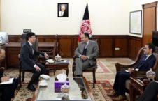 میتسوجی سوزوکا 226x145 - دیدار اکلیل حکیمی با سفیر جدیدالتقرر کشور جاپان در کابل