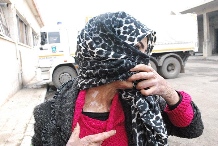 زن سوری1 - جنایات تروریست ها درحلب افشا شد+عکس