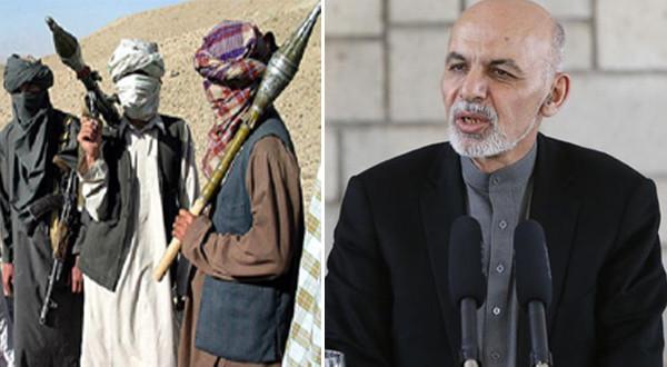 غنی و طالبان