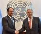 دیدار وزیر امور خارجه کشورمان با سرمنشی ملل متحد