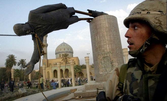 مجسمۀ صدام 1