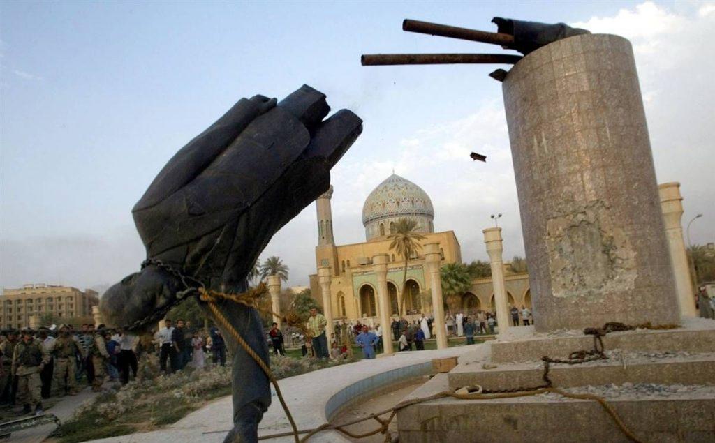 مجسمۀ صدام 2