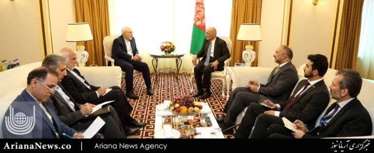 ایران - دیدارهای اشرف غنی در قزاقستان