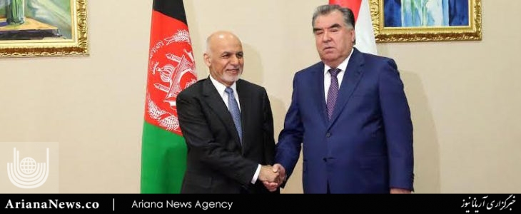 تاجکستان  - دیدارهای اشرف غنی در قزاقستان