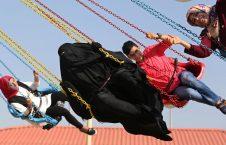 سومین روز رخصتیها عید فطر- پارکی در باریکه غزه
