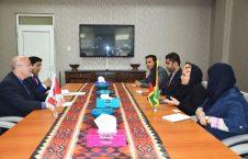 دیدار سرپرست وزارت معادن و پترولیم با معاون سفیر کانادا