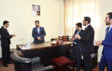 ولی الله ځدران؛ سرپرست ریاست خدمات حقوقی وزارت معادن و پترولیم شد!