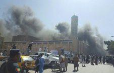 انفجار تروریستی مسجد جامع هرات