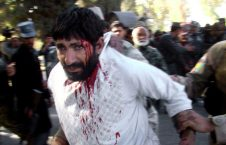 حمله انتحاری لشکرگاه هلمند