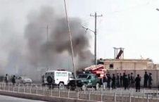 شهادت دهها تن از عساکر اردوی ملی در انفجار مقابل کابل بانک هلمند