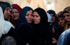 اقارب سعد صلاح که در درگیری با اسراییل کشته شد