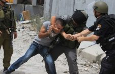 Palestinian man conflict zionist military