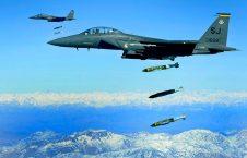 بمباردمان نیروهای عراقی توسط امریکا