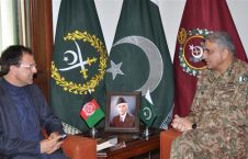 دیدار عمر زاخیلوال با لوی درستیز پاکستان