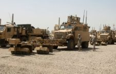 کاروان نیروهای امریکایی