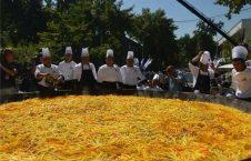 بزرگترین دیگ پلو اوزبیگم
