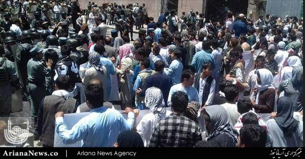 تظاهرات کابل امریکا ناتو