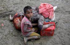 فرار مسلمانان روهینگیا از خشونت میانمار (31)