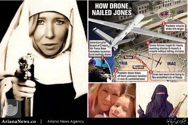 بیوه سفید داعش