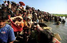 راهپیمایی مرگ مسلمانان میانمار (18)