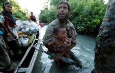 راهپیمایی مرگ مسلمانان میانمار (9)