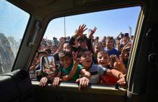 ورود اردوی عراق به کرکوک