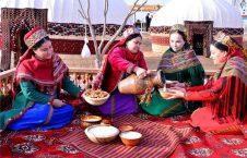 جشن ملی برداشت محصول در ترکمنستان   (6)