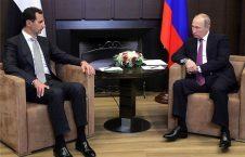 دیدار روسای جمهور روسیه و سوریه (5)