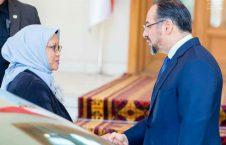 دیدار وزرای امور خارجه افغانستان و اندونیزیا  (2)