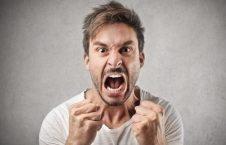 لحظات عصبانیت افراد