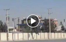 لحظه انفجار مرکز تلویزیون شمشاد کابل