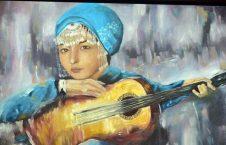 نمایشگاه رسامی زنان در کابل (10)