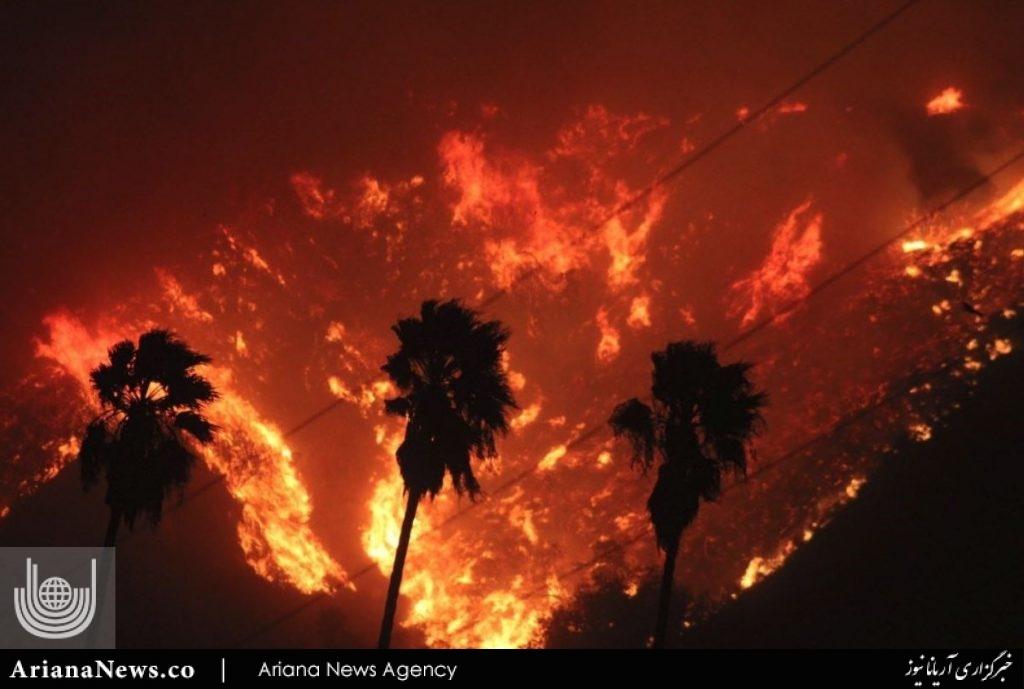 آتشسوزی در کالیفورنیا 1