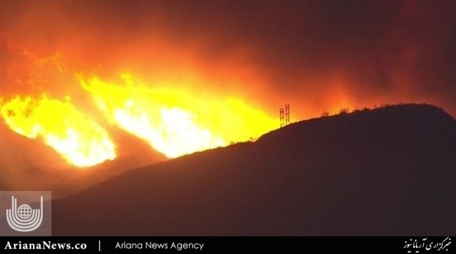 آتشسوزی در کالیفورنیا 2