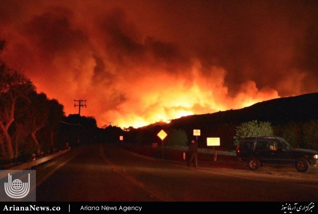 آتشسوزی در کالیفورنیا 3
