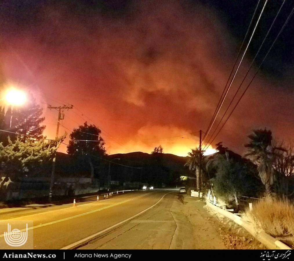 آتشسوزی در کالیفورنیا  4