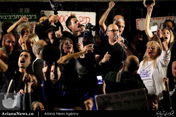 تظاهرات تل اویو 3